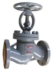 Клапан запорный стальной 15с22нж