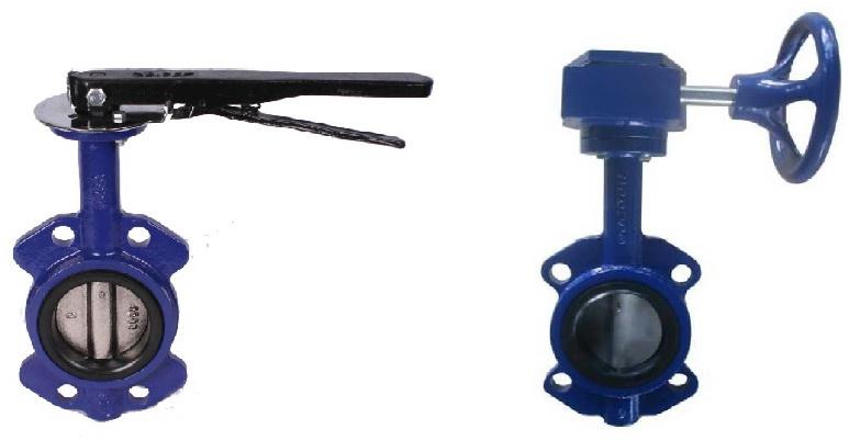 Затвор дисковый поворотный (межфланцевый) Dn 50-300