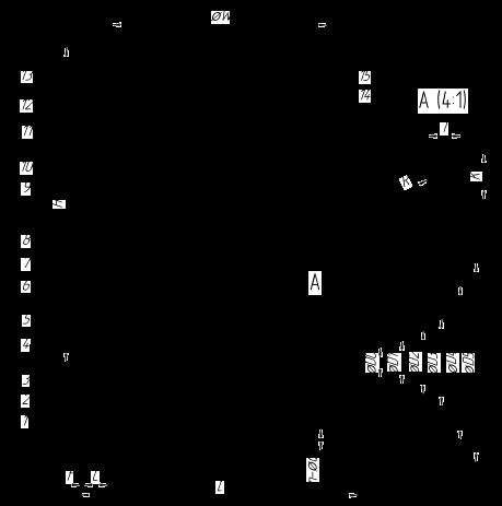 ЗКС (КОМПАКТНАЯ ЗАДВИЖКА) DN15 — DN 50, PN 160. ФЛАНЦЕВОЕ ИСПОЛНЕНИЕ. ТИП ФЛАНЦА 7 — Умеренно-холодное