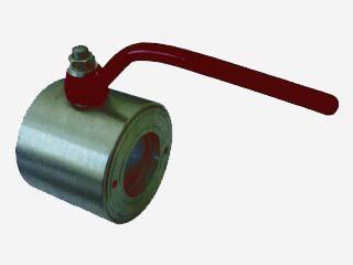 Кран шаровой (Компакт) нержавеющий межфланцевый ручной запорный