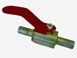 Кран шаровой нержавеющий (под приварку, муфтовый, штуцерный) запорный с ручным управлением